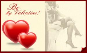 Be my valentineActie