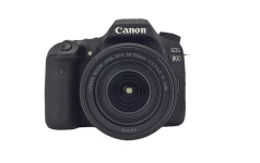 The new Canon EOS 80d Camera front